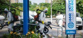 Rodoviária Municipal e Hospital do Idoso recebem serviço de sanitização