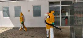 Técnicos da Aman fazem higienização em Quatis
