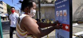 Totens com álcool em gel são instalados em 11 pontos de Barra Mansa