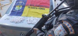 Polícia Militar apreende drogas no Promorar, em Angra dos Reis