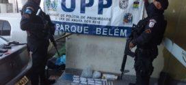 PM prende mulher suspeita de tráfico de drogas em Angra dos Reis