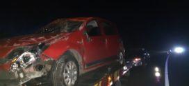 Acidente da Dutra, em Barra Mansa, deixa motorista ferida
