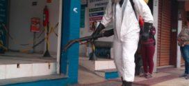 Sanitização é reforçada nos centros comerciais de Volta Redonda