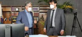 Deputado Pedro Ricardo toma posse na Alerj em lugar de parlamentar que morreu de Covid-19