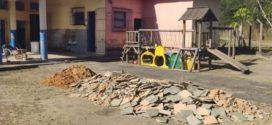 Obras são iniciadas em escola no distrito de Bulhões em Resende