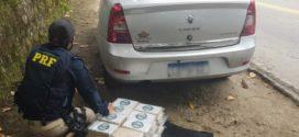 PRF apreende 40 kg de cocaína na Rodovia Rio-Santos