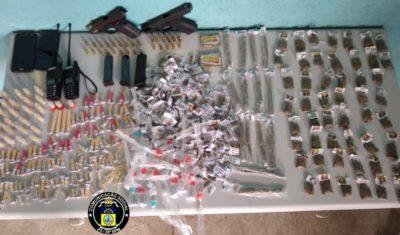 Quatro são presos com pistolas, munições e drogas em Volta Redonda 9