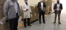 Firjan articula entrega de 3.500 protetores faciais a hospital público