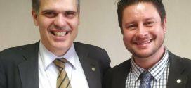 Pré-candidatura de Cristiano Gonçalves a prefeito de Resende recebe apoio de Antonio Furtado