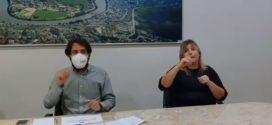 Samuca anuncia que casos de Covid-19 serão concentrados no Hospital de Campanha