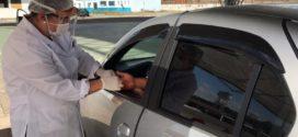 Dos 117 motoristas de aplicativo um testa positivo para Covid-19, em Barra Mansa