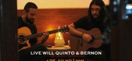 Will Quinto, cantor e compositor de Volta Redonda, apresenta live nesta quarta-feira