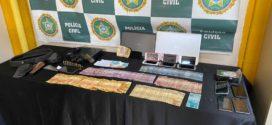 Polícia Civil faz operação contra o tráfico de drogas em Barra Mansa