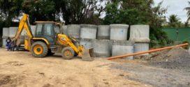 Drable e Marcelo Cabeleireiro acompanham avanço de obras no bairro Vila Nova, em Barra Mansa