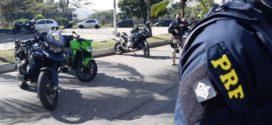 PRF divulga balanço da operação 'Speed Bike' no Sul Fluminense