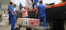Empresa faz doação de 560 cestas básicas à Prefeitura de Volta Redonda