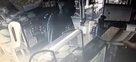 Delegado analisa imagens de bandido que assaltou padaria na 249, em Volta Redonda