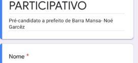 Noé Garcez lança plataforma virtual para pré-candidatura a prefeito de Barra Mansa