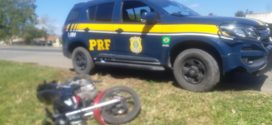 PRF flagra motociclista embriagado