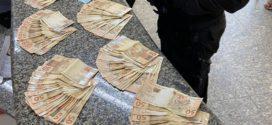 Mulher é flagrada no Morro da Conquista com R$ 9,8 mil e alega que era parte dos R$ 54 mil que recebeu como auxílio reclusão