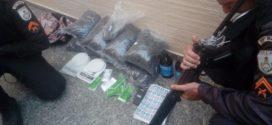 PM apreende materiais usados pelo tráfico no Roma, em Volta Redonda