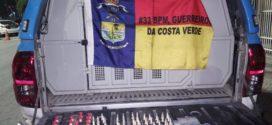 Suspeita de tráfico é presa com mais de 100 pinos de cocaína em Angra dos Reis