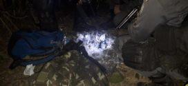 PM apreende vasto material entorpecente após troca de tiros em Pinheiral