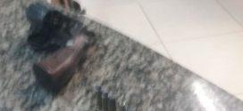 Jovem é preso por porte ilegal de arma em Resende