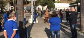 Medidas de prevenção ao coronavírus são reforçadas no Cemitério Municipal de Barra Mansa