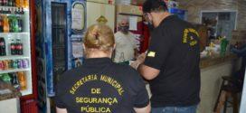 Força-tarefa reforça fiscalização em bares e restaurantes de Volta Redonda