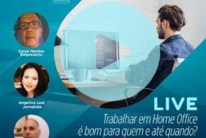 Live desta quarta-feira no Facebook do DIÁRIO DO VALE abordará sobre o trabalho em home office