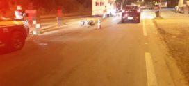 Acidente na BR-393, em Volta Redonda, deixa motociclista ferido
