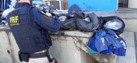 Mercadorias sem notas fiscais são apreendidas na Dutra, em Itatiaia