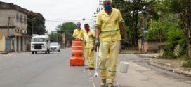 Avenida Paulo Erlei recebe nova sinalização viária em Volta Redonda