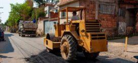 Bairros de Pinheiral recebem operação Tapa-Buraco