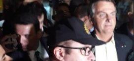 Bolsonaro está em Resende e participará de palestra com cadetes da Aman – veja vídeo