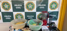Liderança política e chefe do tráfico foram presos em ação visando refinaria de drogas