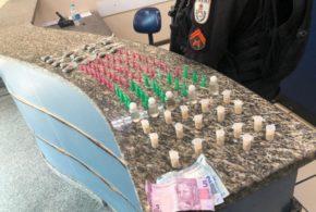 Jovem preso em Barra Mansa diz que precisou se associar a facção criminosa para vender drogas