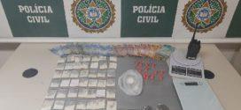 Primos suspeitos de tráfico de drogas são presos em Três Rios