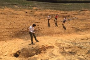 Cientistas descartam tocas de animais pré-históricos em Barra Mansa