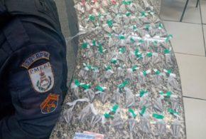 Denuncia leva prisão de suspeito de tráfico no Santa Inês
