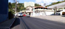 Asfalto na Bocaininha em Barra Mansa será concluído nos próximos dias