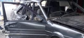 Colisão com poste deixa motorista ferido em Barra do Piraí