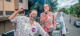 Cida Diogo faz primeira carreata em Volta Redonda