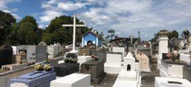 Quatis orienta moradores para visitas ao cemitério no Dia de Finados