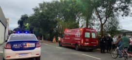 Jovem perde braço ao ser atingida por trem no Centro de Barra Mansa