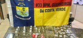 Suposto chefe do tráfico no Condado é preso pela PM em Paraty