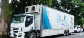 Mais de 400 exames gratuitos foram feitos no 'Caminhão da Saúde' em Pinheiral