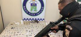 Suspeito de tráfico é preso com  entorpecente em Levy Gasparian