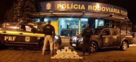 Homem é flagrado com 40 tabletes de cocaína na Serra das Araras